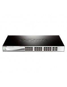 D-LINK DGS-1210-28P Switch 24 ptos gigabit PoE+4SF