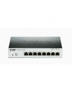 D-LINK DGS-1100-08P Switch 8 ptos Gigabit PoE