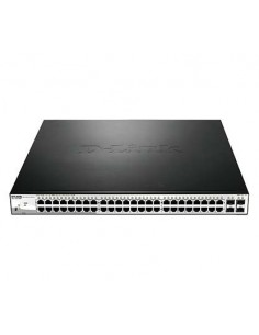 D-LINK DGS-1210-52MP Switch 48 ptos Gigabit PoE+4S