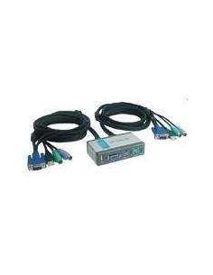 D-LINK DKVM-2K KVM 2 PCs PS/2 cables incluidos