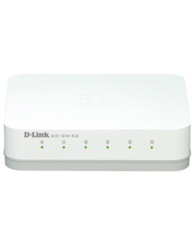 D-LINK GO-SW-5G Switch 5 Puertos 10/100/1000