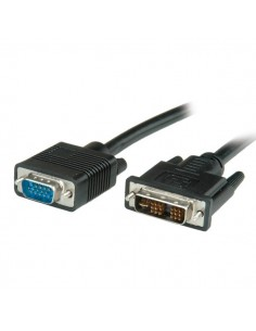 Cable DVI/VGA 5 m. DVI M/HDB15 M VALUE