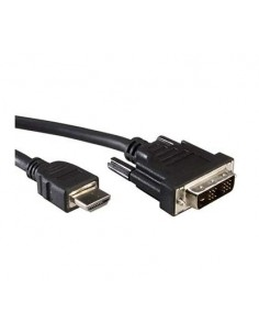 Cable DVI-HDMI 3 m. DVI Macho / HDMI Macho VALUE