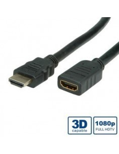 Cable HDMI 2M. Alta Velocidad+Ethernet M- H VALUE