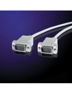 Cable Serie 1,8 M.RS232 DB9 Macho-Macho VALUE