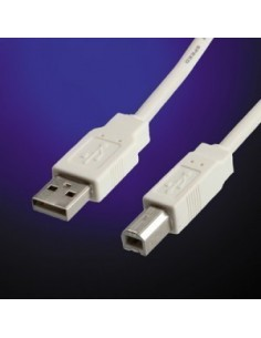 Cable USB 2.0 3 M. para  impresora A-B VALUE