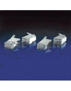 Conector Macho RJ45 C5 S/FTP Metal10 uds ROLINE