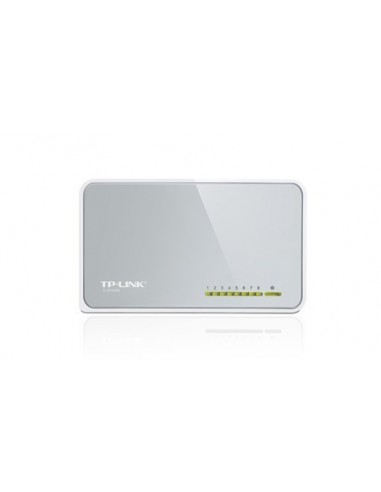 TP-LINK TL-SF1008D Switch 8 ptos 10/100 plastico