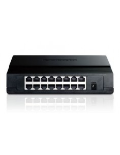 TP-LINK TL-SF1016D Switch 16 ptos 10/100, sobremea