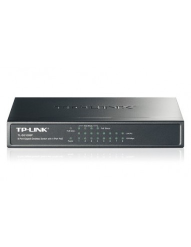 TP-LINK TL-SG1008P Switch 8 ptos 10/100/1000/4 PoE