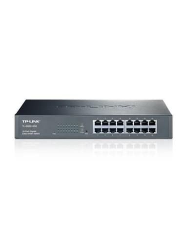 TP-LINK TL-SG1016DE Switch 16 ptos Gigabit, Smart