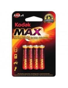 KODAK MAX Blister Pilas Alcalinas LR03 (AAA) X 4
