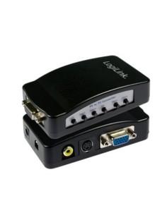 Convertidor de Señal VGA de PC a Conexión de TV
