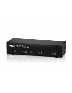 ATEN VS0401 Conmutador VGA 4ptos, audio, 4 PCs/1