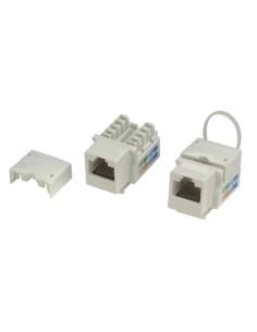 Hembra RJ45 UTP C6 Para Caja Blanca CNH69