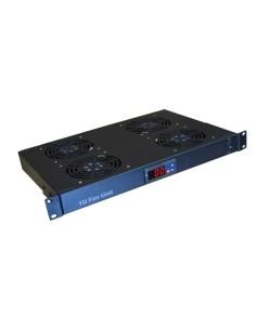 VK-4 Termoregulador 4 ventiladores + termostato 1U