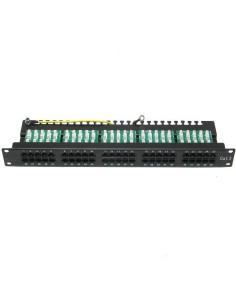 """PANEL-K 50  Panel 50 puertos C3 19"""" Negro"""