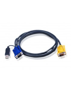 ATEN 2L-5202UP Cable PS2-USB 1.8m para KVM
