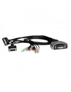 Conmutador Automático KVM DVI  2 PC'S STAR USB CON