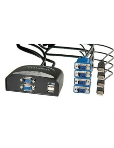 Conmutador Automático KVM 4 PC'S STAR USB VALUE, C