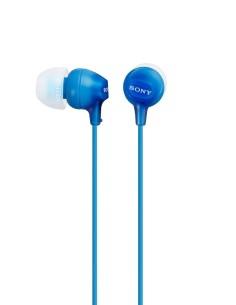 SONY MDREX15LPP Auricular Intra Aural Azul 1.2 m