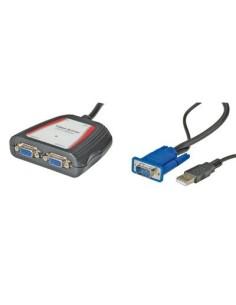 Splitter VGA para 2 monitores 250 MHZ PORTABLE