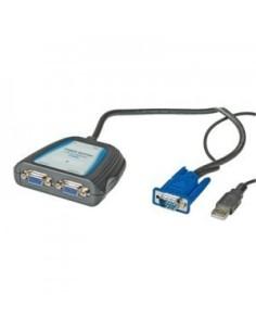 Splitter VGA  para 2 monitores 450 MHZ Portable
