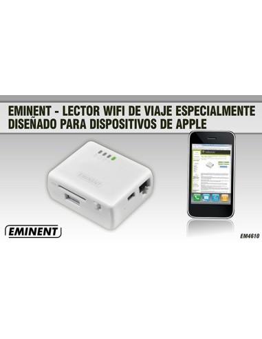 EMINENT EM4610 Lector Wifi viaje para Apple