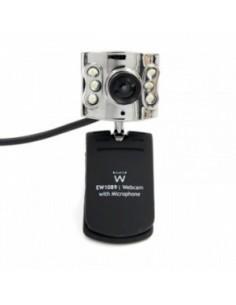 EWENT EW1089 iCAM Webcam con micrófono