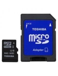 TOSHIBA Tarjeta Micro SD HC 32GB Clase 10