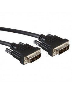 Cable DVI-D 3 M. Dual Link 24+1 Macho-Macho  VALUE