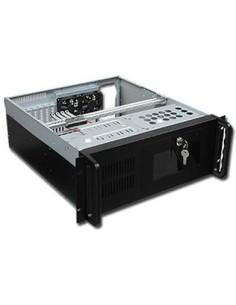 """Caja CPU 4U 19"""" Negra SIN FUENTE"""