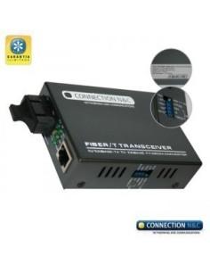 CNC LC100SC Conversor Fibra Óptica10/100, SC