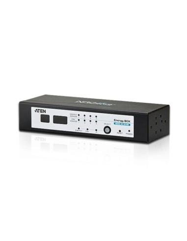 ATEN EC1000-AX-G Caja de potencia con supervisión de potencia en tiempo real IP PDU