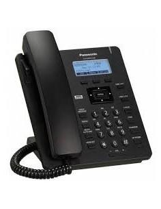 PANASONIC HDV-130 Teléfono IP dos líneas Negro