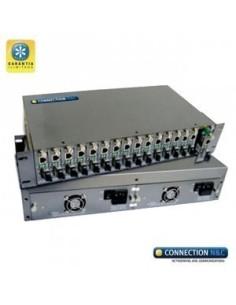 CNC LCR-16-10/100/1000 Chasis para conversor