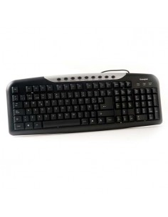 PPG KEY1002MU Teclado Multimedia USB/PS2