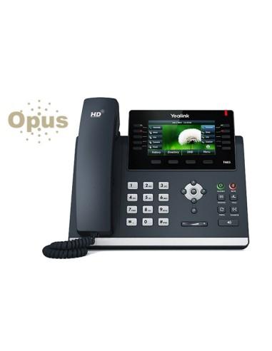 YEALINK T46S Teléfono Diseño Opus 16 SIP Poe no FA