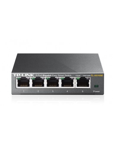 TP-LINK TL-SG105E Switch 5 Puertos Gigabit L2