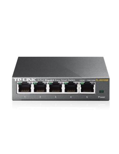 TP-LINK TL-SG105E Switch 5 Puertos Gigabit L2