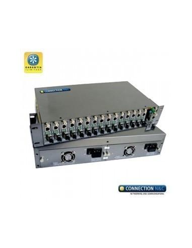 CNC LCR-14 Chasis para 14 convertidores