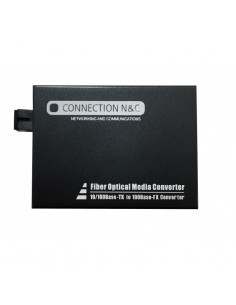 CNC LC200SM-25 Conversor fibra (Par) 10/100 SM WDM