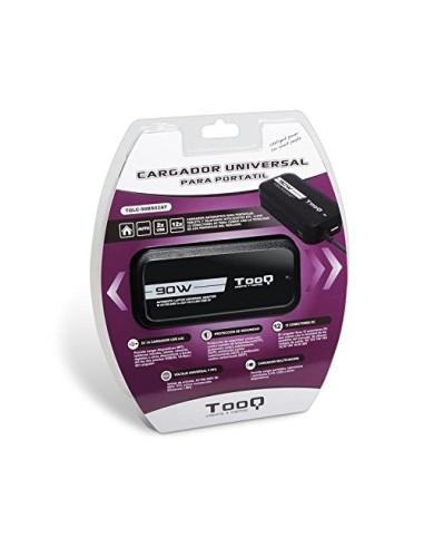 TOOQ TQLC-90BS02AT Cargador Universal automatico de 90 W para ordenador portatil
