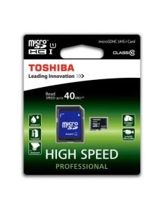 TOSHIBA Tarjeta MICRO SD HC 8GB Clase 10