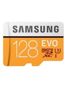 SAMSUNG MicroSD 128GB Clase 10 + Adaptador