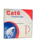 Bobina cable UTP CAT6 305m Rígido 23AWG