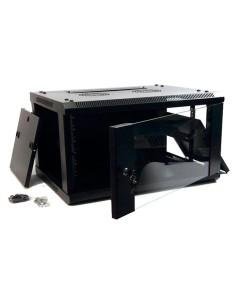 PPG Armario 4U Fondo 600 Negro 280x600x600 mm