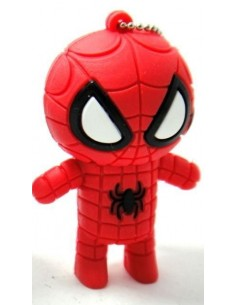 CNCPD16GB-300 Pen 16GB SPIDERMAN  ROJO USB 2.0