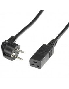 Cable alimentacion 3 M. IEC320-C19 - SCHUKO ROLINE