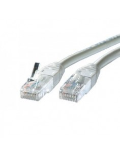 Latiguillo 0.30 m RJ45 CAT 6 Gris RHOS ROLINE
